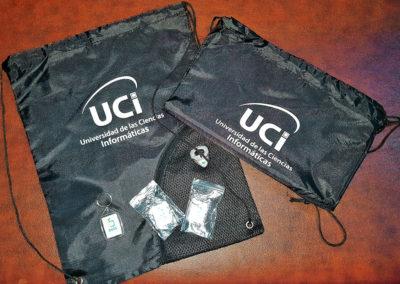 Impresión sobre bolsas de material sintético