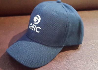 Impresión sobre gorra para clientes