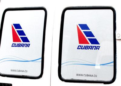 Grandes formatos: impresión sobre material microperforado para un vehículo tipo panel