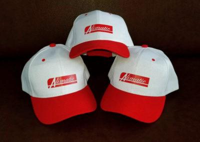 Impresión textil sobre gorra para Alimatic