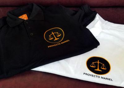 Impresión textil sobre pulóver para el Proyecto Mariel