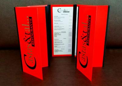 Papelería: Carta Menú para restaurante privado Castas & Tal