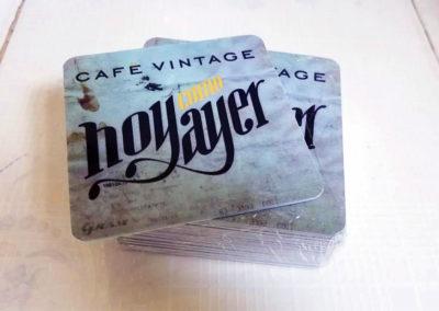 Papelería: posavasos para cafe vintage Hoy Como Ayer