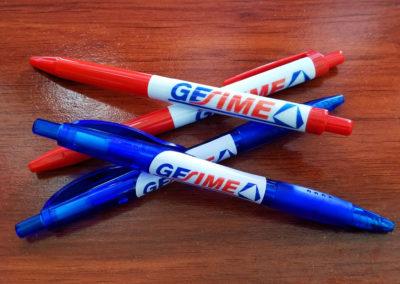 Productos: bolígrafos personalizados para Gesime