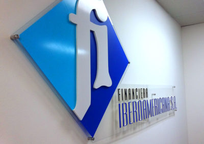 Realización / Montaje: Cartel para Financiera Iberoamericana S.A.