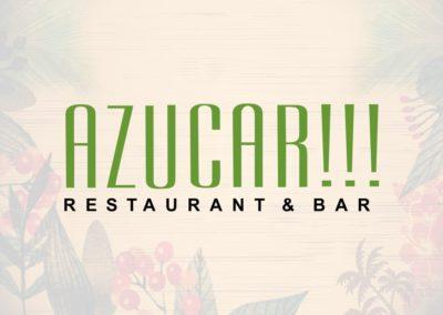 Identidad: Azucar!!! Restaurant & Bar
