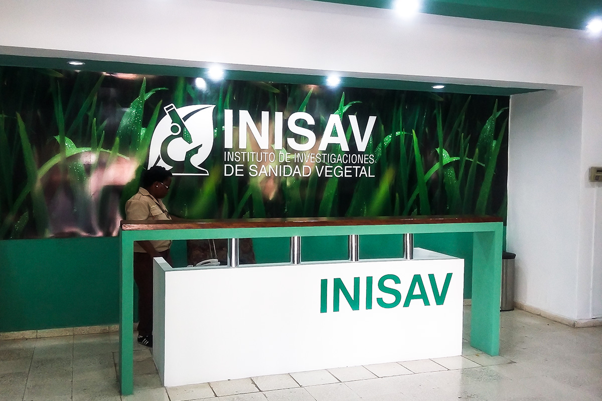 Stand para el Instituto de Sanidad Vegetal (INISAV)
